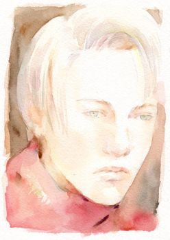 Portrait of Draco by lillithium