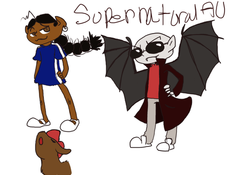 Supernatural Au Knd by Dog-Of-Awesome