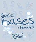Sonic bases: Females .:P2U:. by Tanzilla