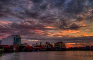 Sunrise of Chew Jetty, Penang by fighteden