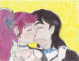 kevin gwen i do kiss color by AncientWonder