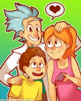 Family Portrait by InuGurl107