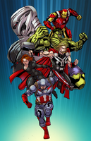 Avengers AoU by Claret821021