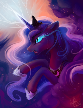 The night will last forever! by Miltvain
