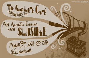 Slushie Acoustic Gig Poster by ixis