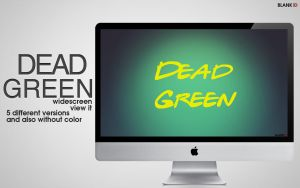 DEAD GREEN_wall by BlankID