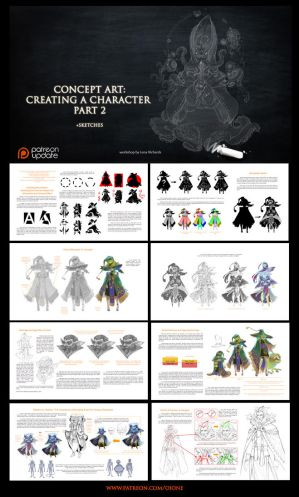 Preview - Character design - part2 by oione