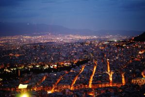 Athens by night by sunsation