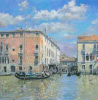 A Day of the Many at the Grand Canal by DChernov