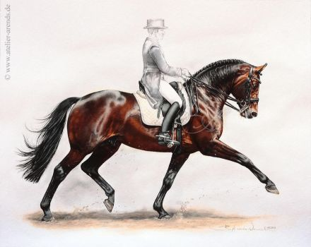 Horse Lord Sinclair by AtelierArends