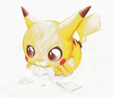 Pikachu Ate My Essay by glasskiwi