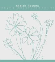 Flowers .4 by crazykira-resources