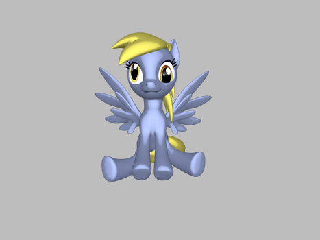 Derpy by pegasister-abby