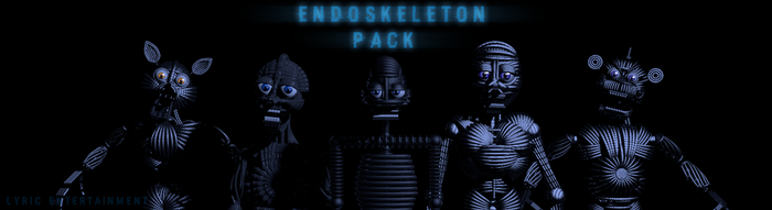 Endoskeleton Pack (C4D) by LyricEntertainment