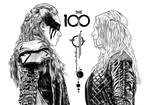 The 100 - Lexa and Clarke WIP by DanielGreyS