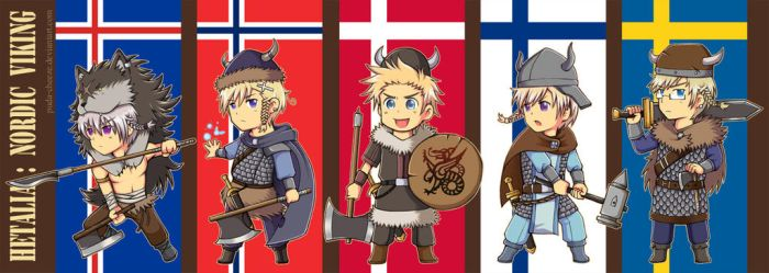 APH - Nordic Viking by puda-cheeze