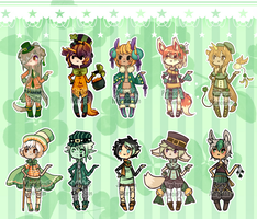 St. Patricks Day Group Collab [CLOSED] by JeanaWei