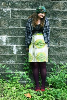 Paperbag Skirt by rosesnthorns65