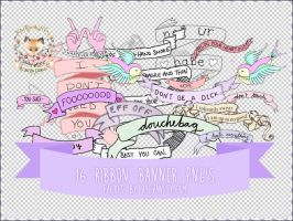 Banner PNGs by OftheCrucified