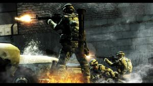 Firefight with US forces by gtanoofa