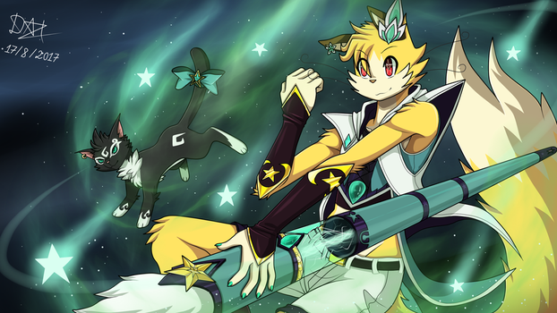Skin Meow Star Guardian by Meow-Map-Cute