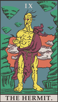 Street Fighter Tarot - The Hermit by SayIanIanIan
