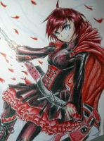 Ruby Rose by ElusiveAutumn