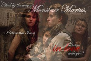 A little bit in love with you - Eponine and Marius by LadyRiverwolf