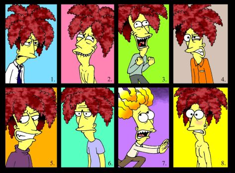 The Many Moods of Bob by Nevuela