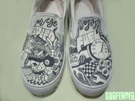 Shoes - fuel by surfender
