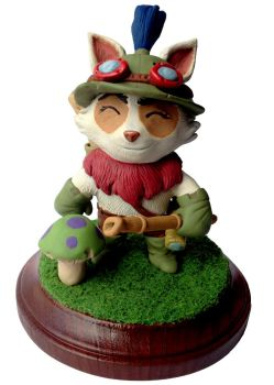 Teemo League of Legends Sculpture by LeiliaClay