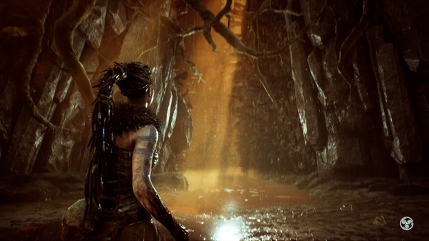 hellblade senua's sacrifice Hell's Punishing path by DarkRosePassions