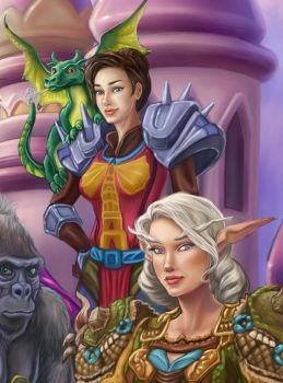 Detail Warcraft friends by MBoulad