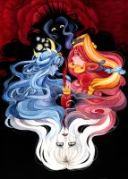 Witches and Queens - Ikuhara's 3 Mothers by mementomoryo