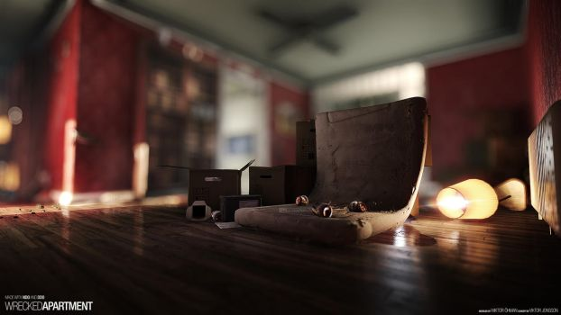 Wrecked Apartment #3 by beere