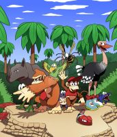 Donkey Kong Country by MatiZ1994