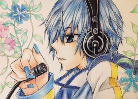 Kaito - Vocaloid by Fangirl342