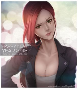 League of Legends Katarina Casual by magion02