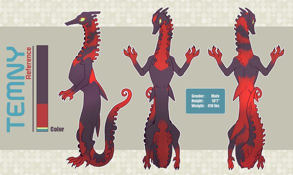 Adopt Reference : Temny by Leaf-subway