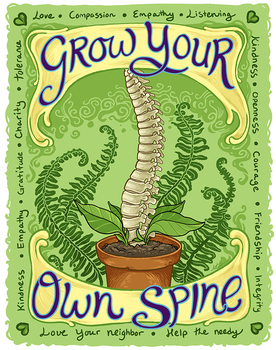 Grow Your Own Spine by MeredithDillman