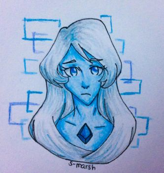 AT: blue diamond by Space-Marshmallow