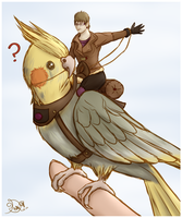 .:Trade:. Tiel Rider by Kelly-WritersSoul