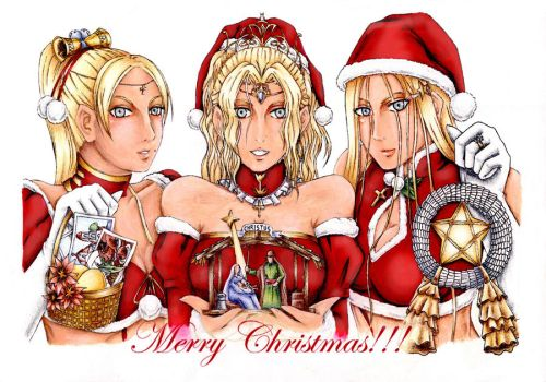 Merry Claymore Christmas by Whiterisu