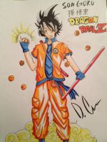 Dragon Ball Son Goku Redesign Complete by HUmarWarriorAtticus
