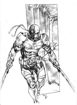Deathstroke by gunzaku56