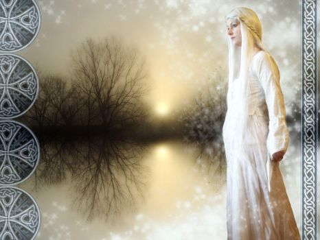 Galadriel Reaches Out..... by Rindaewen