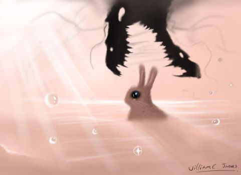 I bet the bunny wins... by SirNerdly