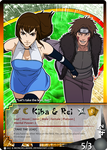 CM: Kiba and Rei TCG Card by mongrelmarie