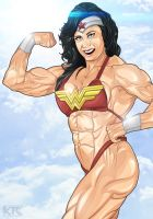 Wonder Woman 01 by Mercalicious