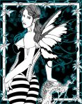 The Fairy of the blue woods by el-diablero